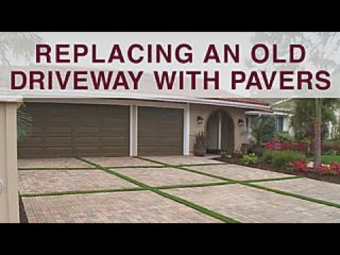 Replacing Driveway With Pavers - DIY Network