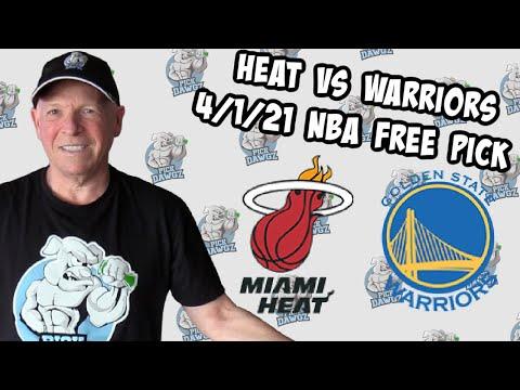 Miami Heat vs Golden State Warriors 4/1/21 Free NBA Pick and Prediction (NBA Betting Tips)