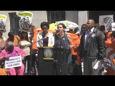 One Brooklyn-- NYC Rent Regulations Extention Press Conference