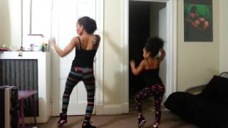mother daughter duet jeremih dance choreography