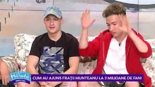 Cum au ajuns fratii Munteanu la 2 milioane de fani La Maruta