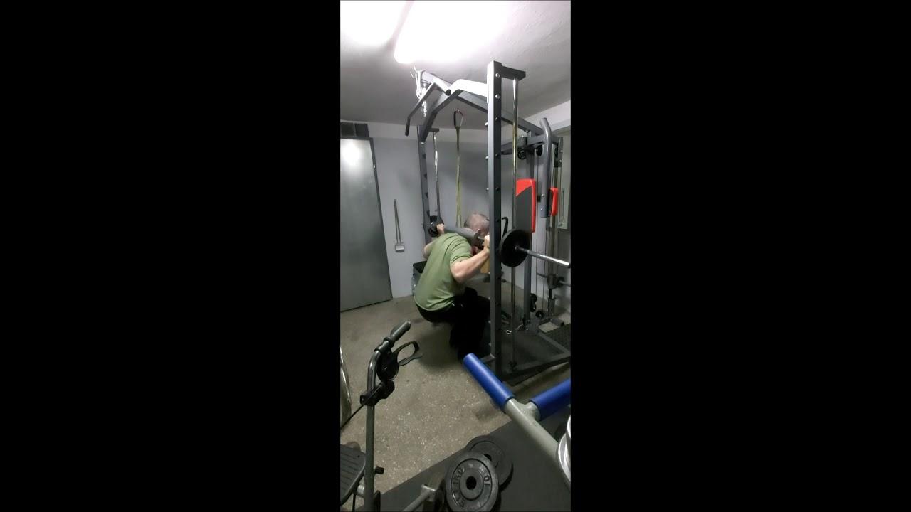 █OLEK █ Nowy rekord na ławce 63 kg /14-11-2019/ Quadriplegic benchpress 63 kg