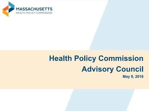 Meeting of the HPC's Advisory Council - May 9, 2018