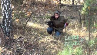 видео лазерные бои в Киеве