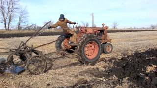 Farmall F20 Plowing