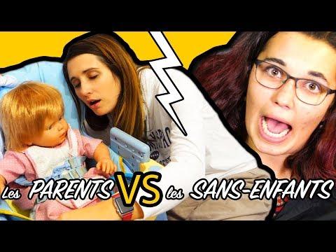 LES PARENTS VS LES GENS SANS ENFANTS! ANGIE LA CRAZY SÉRIE