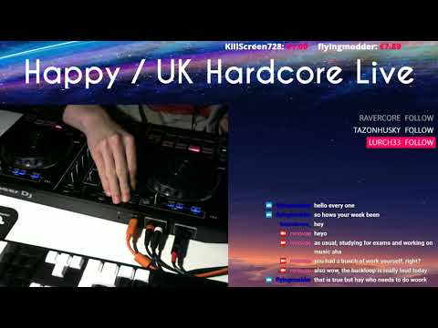 (41) Happy / UK Hardcore Live (April 29th 2018) from YouTube · Duration:  2 hours 5 minutes 45 seconds