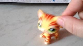 Кошка-стоячка #1451 тигровая