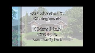 4217 Aftonshire Dr. Wilmington NC