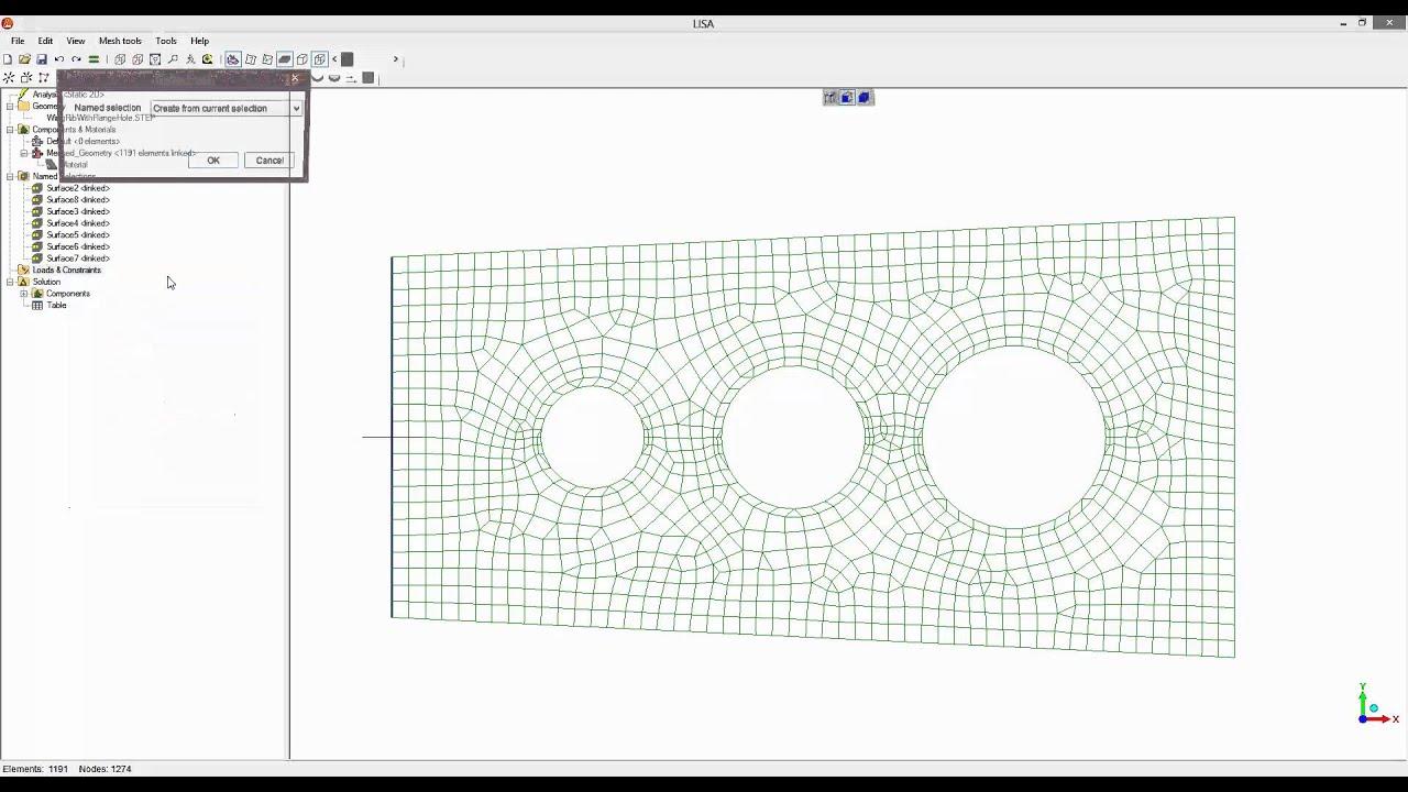 finite element tutorial with free lisa 8 0 0 wing rib youtube rh youtube com Manuel Lisa Fur Trade Manuel Lisa Fur Trader
