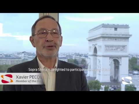 Interview of Xavier Pecquet, Sopra Steria, France