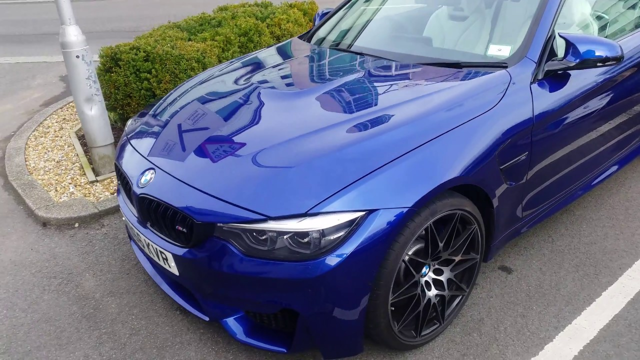 bmw m4 blue youtube. Black Bedroom Furniture Sets. Home Design Ideas