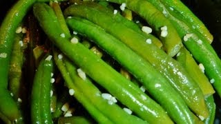 Garlic Green Beans- Become Your Own Favorite Chef With Amy Westerman