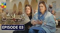 Zebaish Episode 3 | English Subtitles | HUM TV Drama 26 June 2020