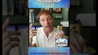 60 Seconds Words on Worship Wednesday - Shawn Thomas