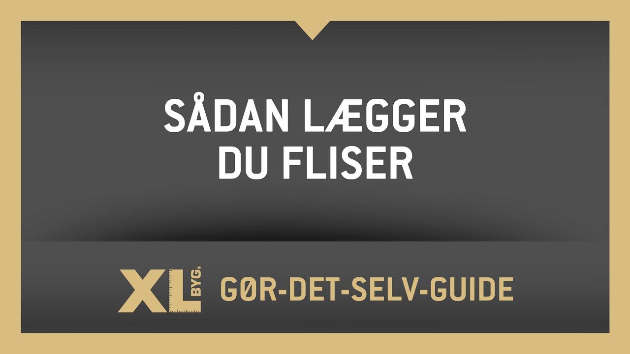 Pæn Sådan lægger du havefliser med XL BYG - YouTube DB48