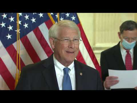 Senator Wicker at Senate GOP Press Conference