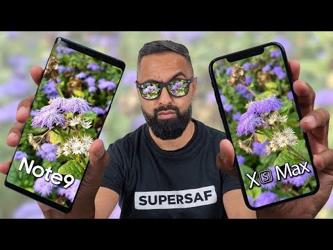 iPhone XS Max vs Galaxy Note 9 Camera Test Comparison
