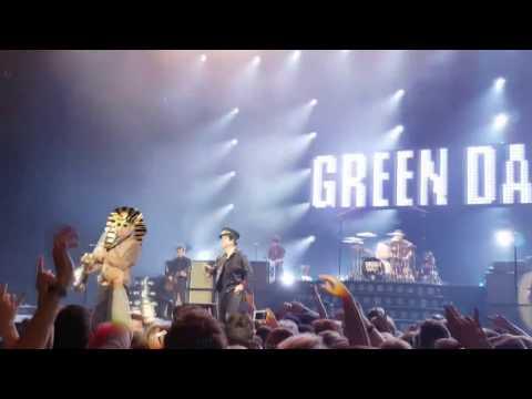 Green Day Live @ Hallenstadion, Zürich - 16.01.2017