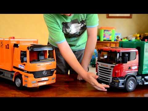 Scania R Series Garbage Truck Bruder 03561 Muffin