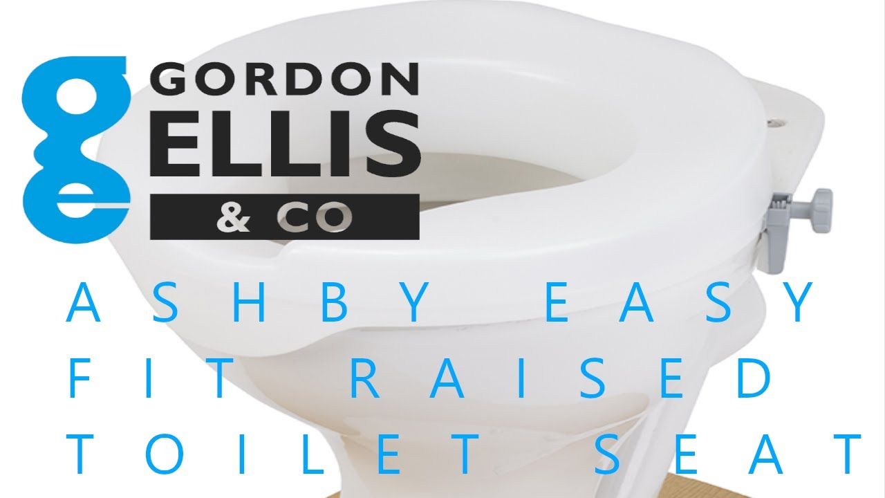 Ashby Easy Fit Raised Toilet Seat Youtube