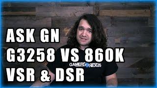 ask gn 9 g3258 vs 860k gpu binning cpu stress test