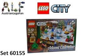 Lego City 60155 City Advent Calendar 2017 - Lego Speed Build Review