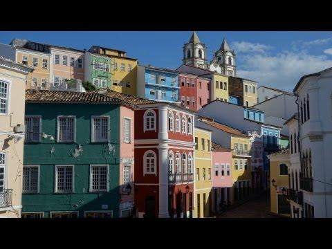 The Historic Center of Salvador, Bahia, Brazil in HD