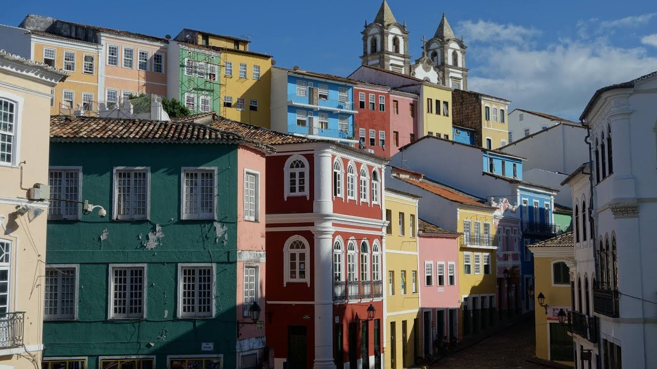The historic center of Salvador, Bahia - Magazine cover