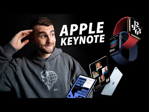 Meine Reaktion! - Das neue iPad Air, Apple Watch Series 6 & Apple Watch SE (Keynote Zusammenfassung)
