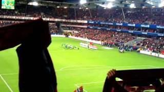 Norge - Portugal 7. September 2010  Nasjonalsanger