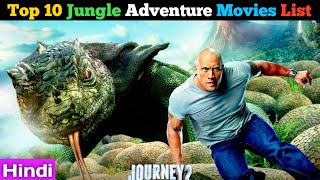 Top 10 Jungle Adventure Movies list Dubbed Hindi by Super Filmy Boy review