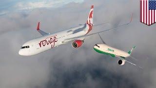 Dua pesawat nyaris bertabrakan karena pusat kontrol bandara salah memberikan arah - Tomonews