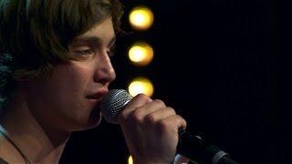 Tristan Björling sjunger Angels i solomomentet av Idols slutaudition - Idol Sverige (TV4)