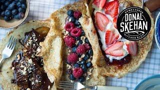 Perfect Pancakes: 3 Ways!