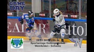 Ice Hockey Game:  SC Weinfelden vs NHA   SWHL A (1080p)