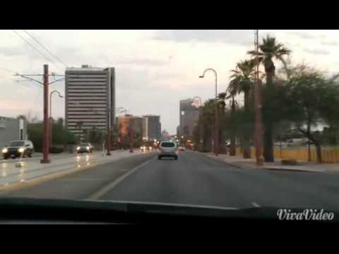 Streets Of Phoenix Arizona