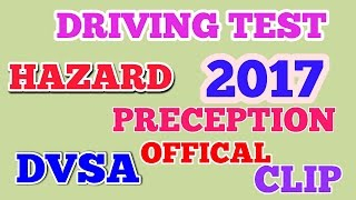 HAZARD PERCEPTION  DRIVING TEST  VIDEO    20