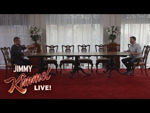 Win an Uncomfortable Meal with Jimmy Kimmel & Matt Damon