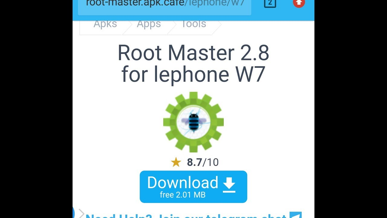 Lephone w7 root by technical viki jangir
