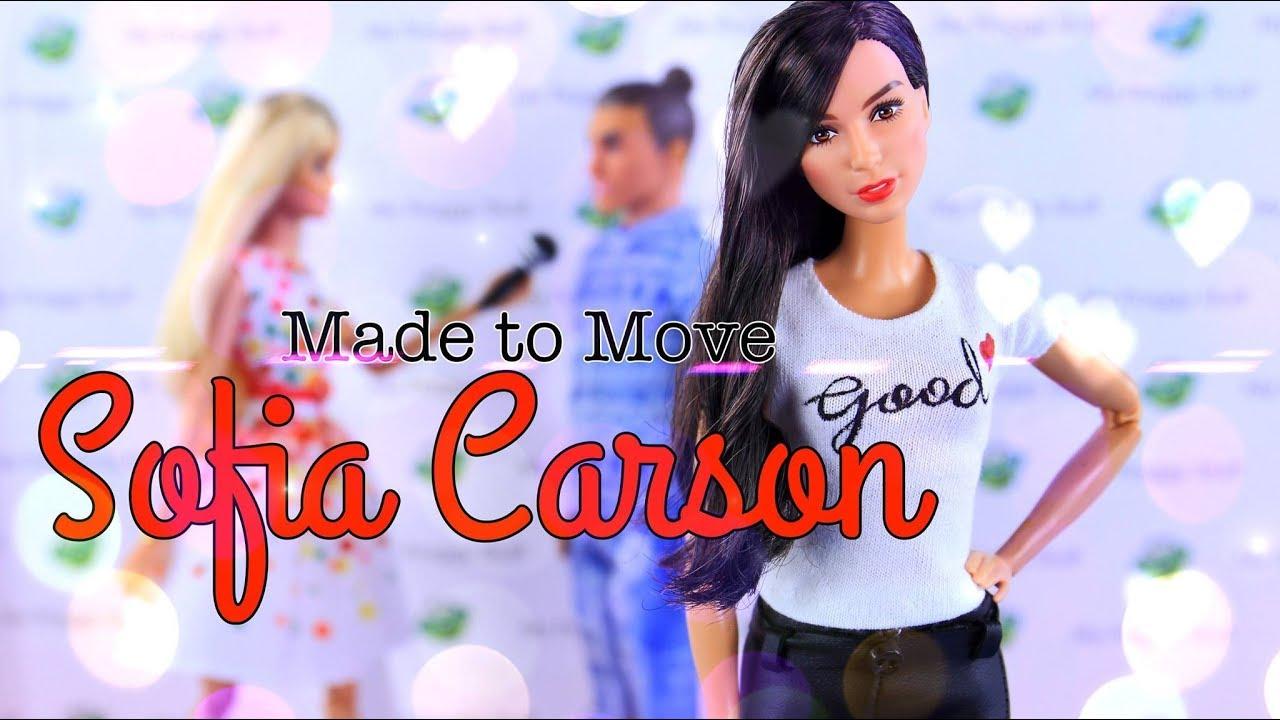 DIY - How to Make: Made to Move Sofia Carson   Celebrity Custom Doll