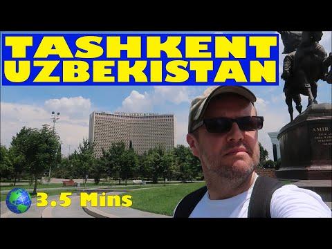Tashkent, UZBEKISTAN: a 3.5 Minute Video