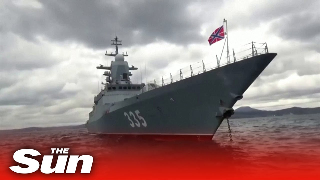 Russia and China launch joint naval drill in Sea of Japan