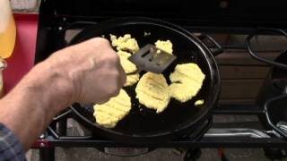 How To Make Hoe Cakes, Or Johnnycakes For Pioneer Recipes