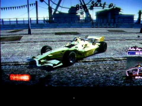 Burnout Paradise Gold F1 Car