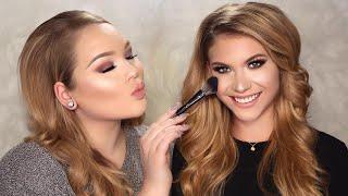 DOING MISS NETHERLANDS' MAKEUP! Miss Universe | GLAMFORMATIONS #3
