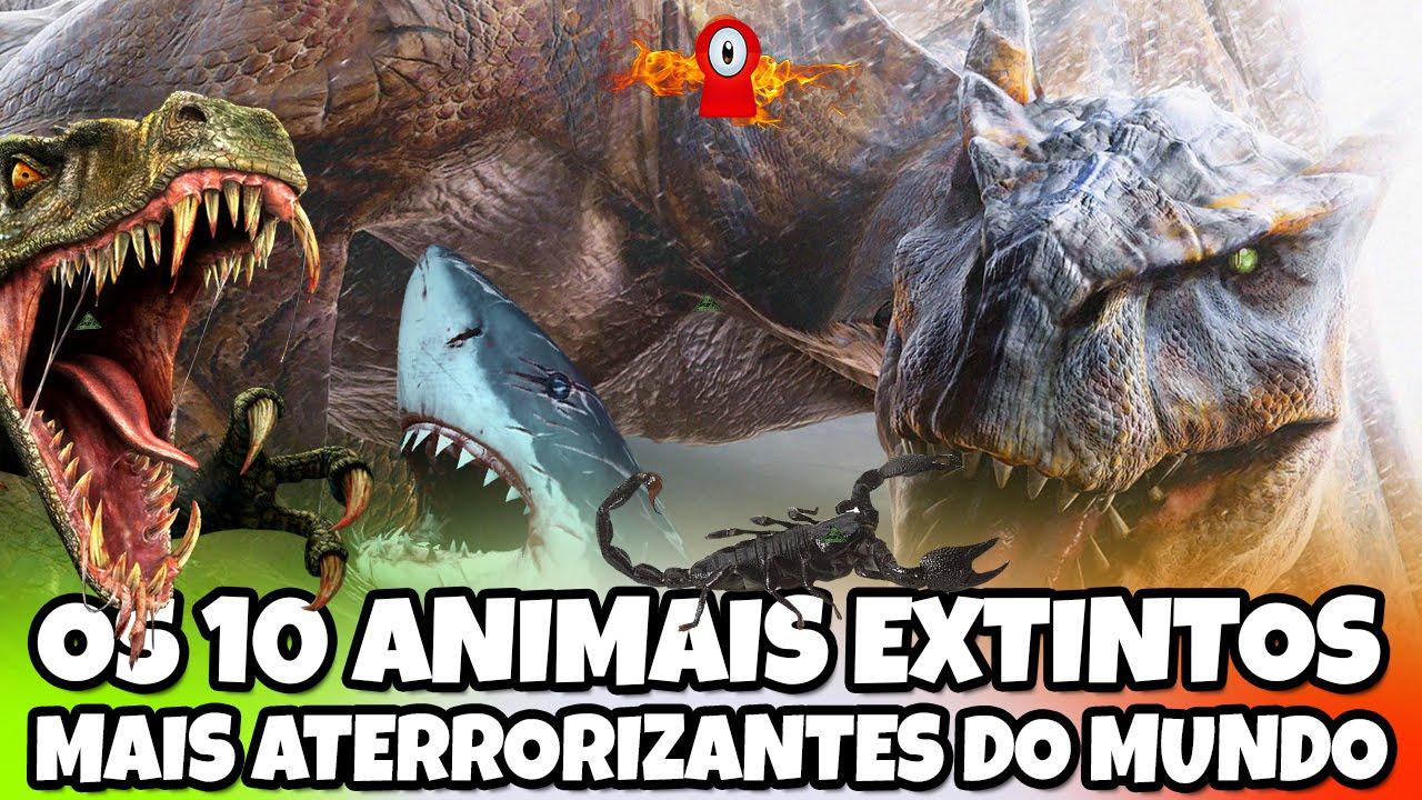 Os 11 animais extintos mais aterrorizantes do mundo