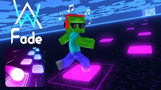 Monster School : Tiles Hop EDM Rush! - Minecraft Animation