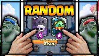 קלאש רויאל | אני מרמה ? בואו ננסה ללחוץ על 2 קלפים ונראה מה יקרה !!!