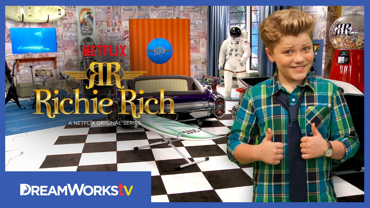 Coolest Room Ever [Exclusive Clip] | RICHIE RICH - YouTube